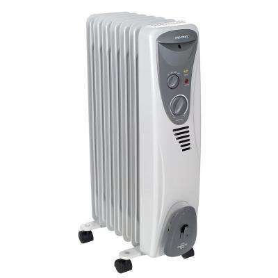 1,500-Watt Electric Oil-Filled Radiant Portable Heater