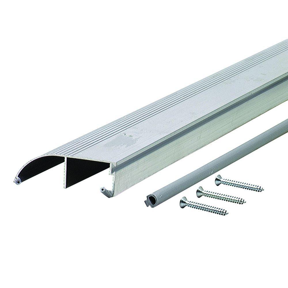 Bumper 3-1/2 in. x 84 in. Aluminum Threshold