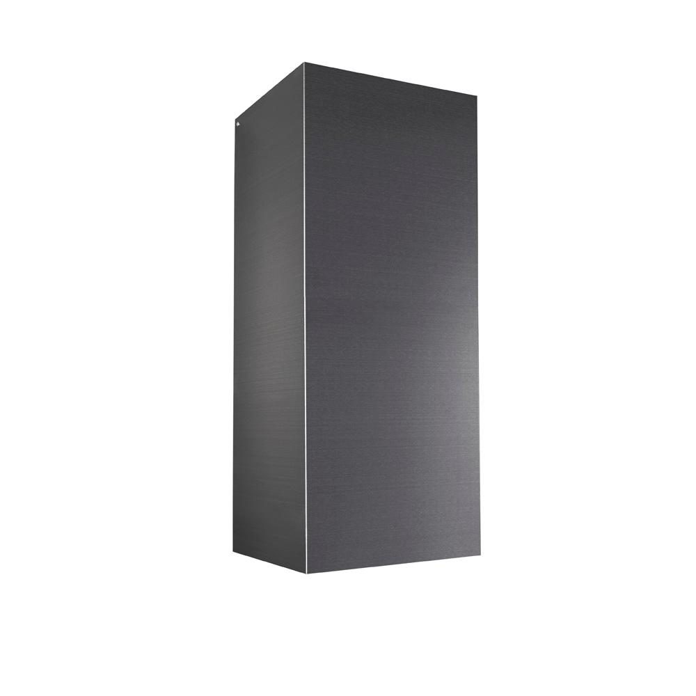 Broan Elite Ducted Flue Extension In Black Stainless Steel For Ew54 Series Chimney Range Hood