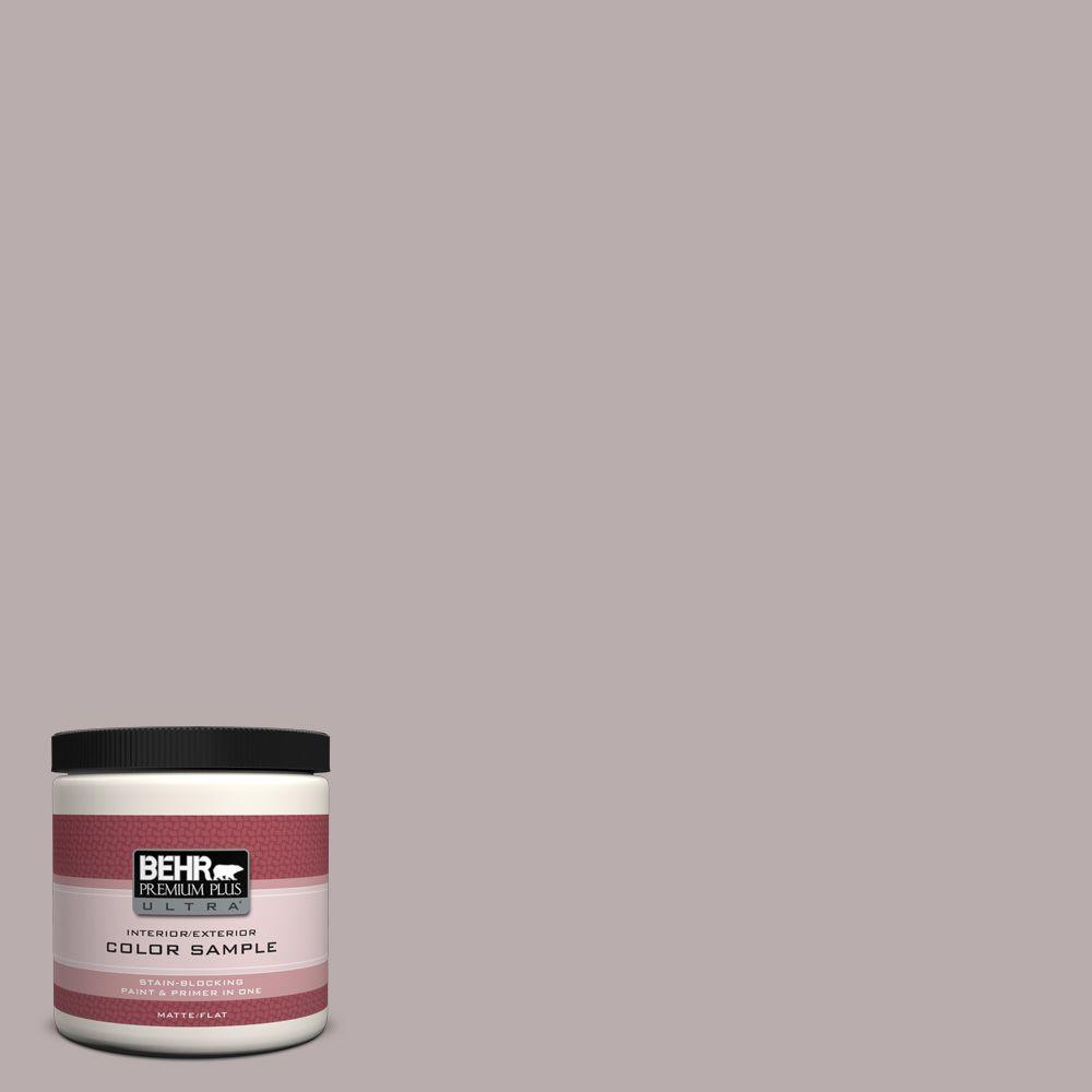 BEHR Premium Plus Ultra 8 oz. #PPU17-11 Vintage Mauve Interior/Exterior Paint Sample