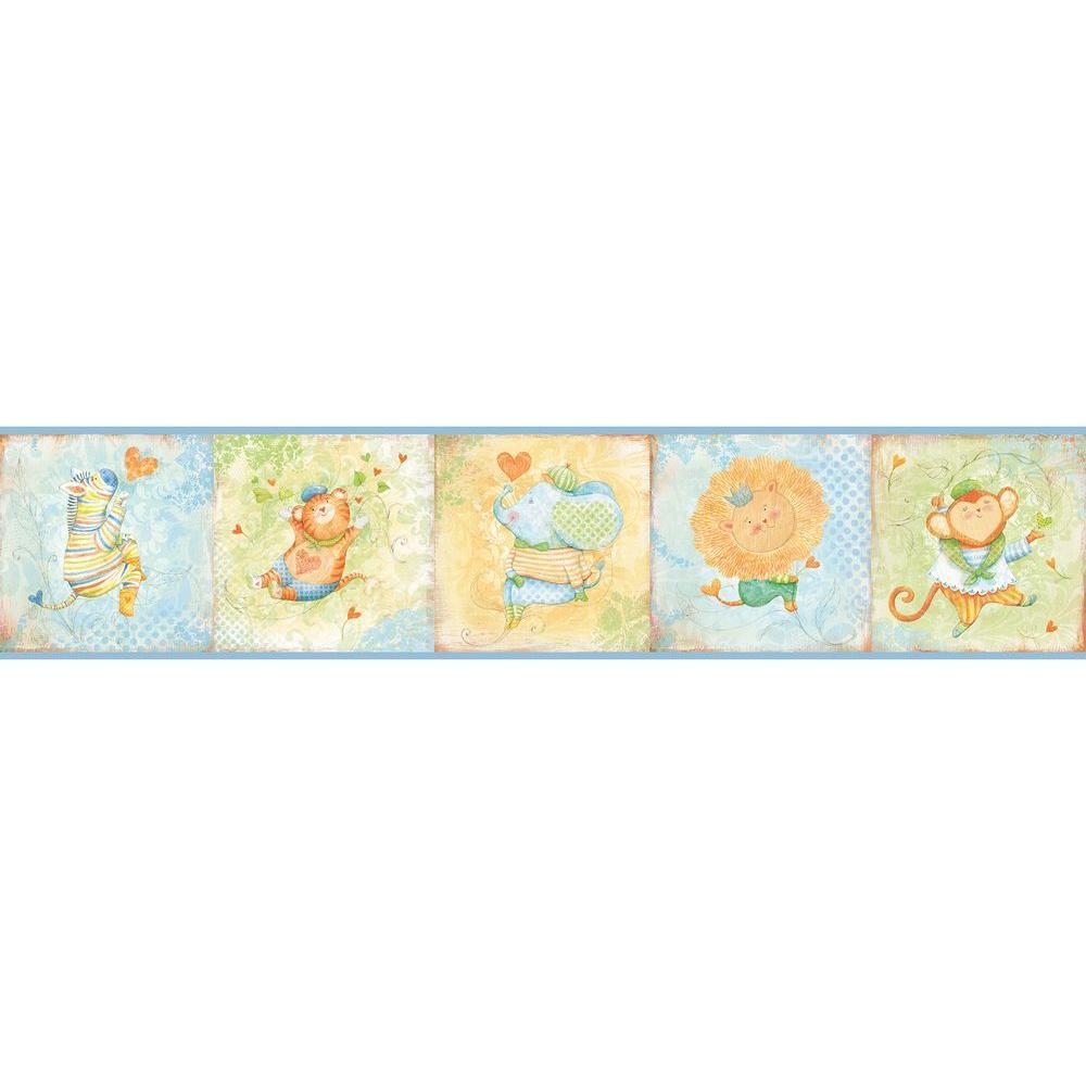 Lucie's Circus Wallpaper Border