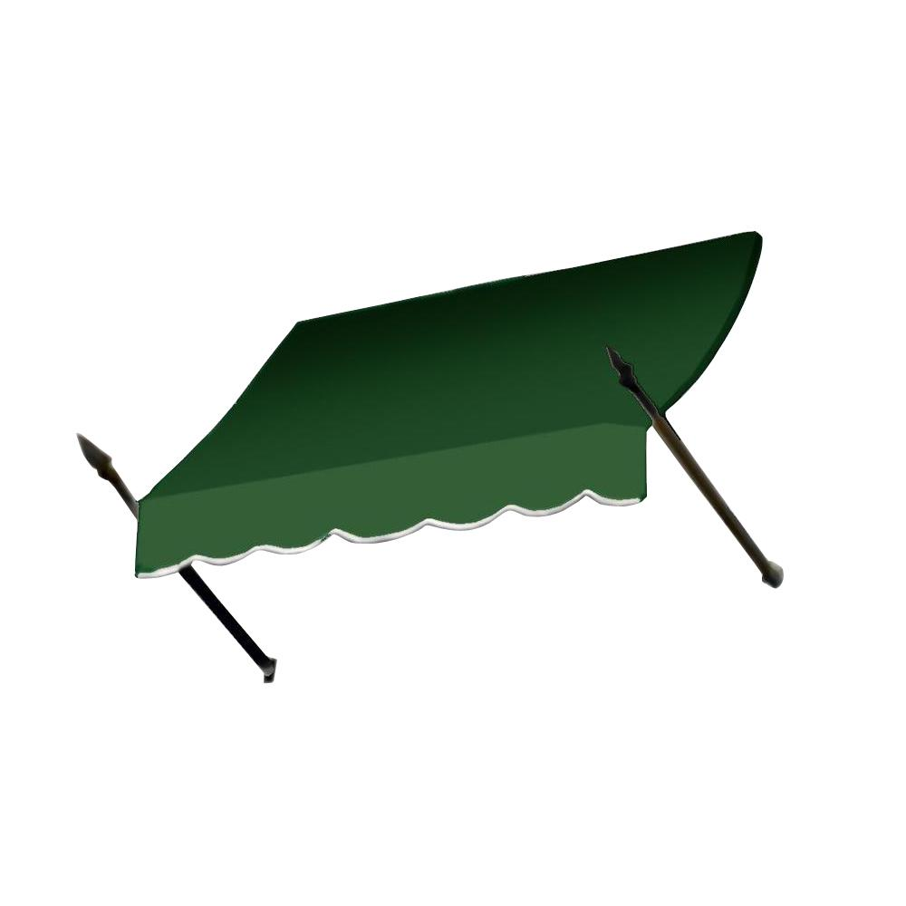 AWNTECH 5 ft. New Orleans Awning (31 in. H x 16 in. D) in Forest