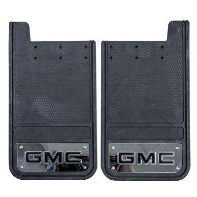 GMC 12 in. x 23 in. Heavy-Duty Rear Mud Guards