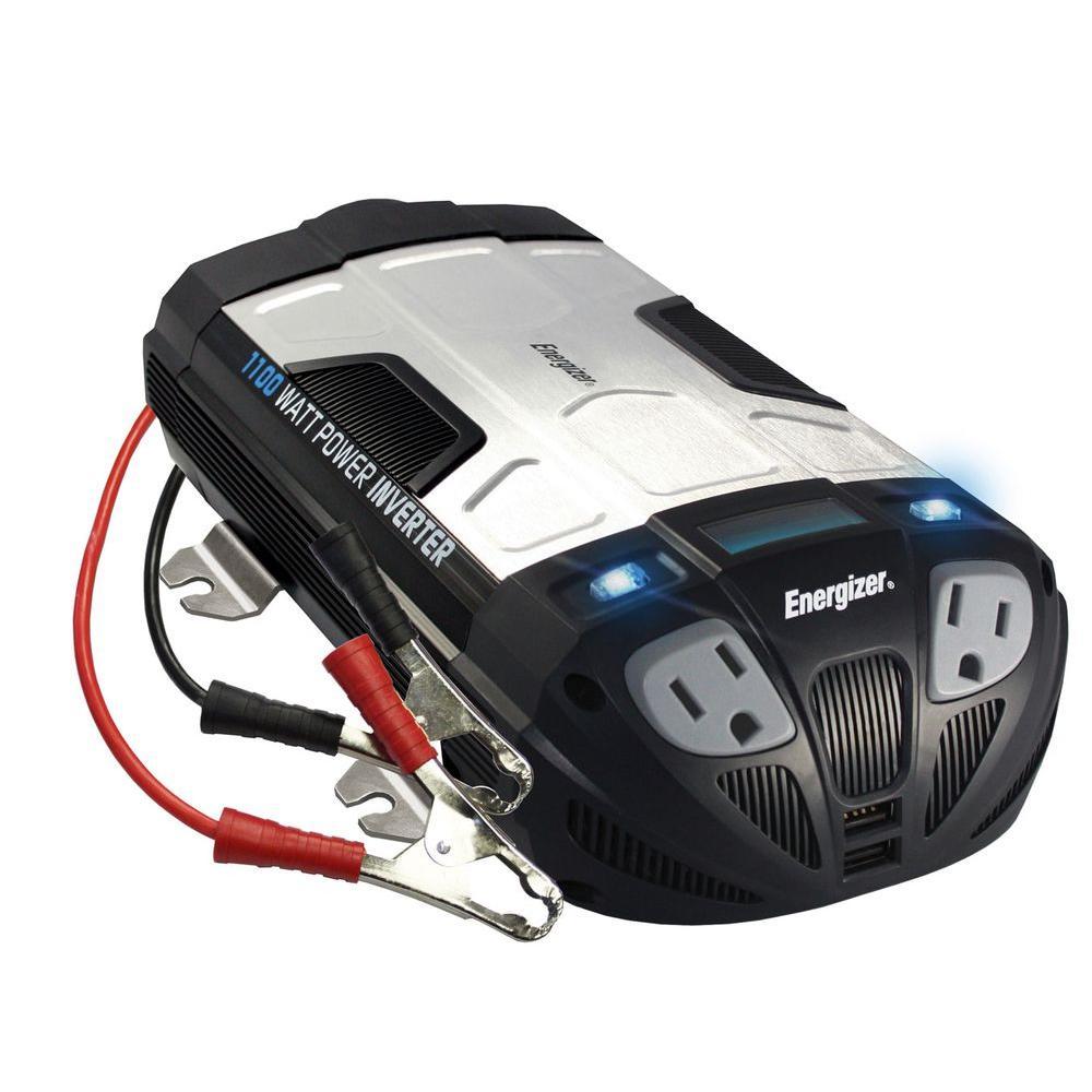 Energizer 1100-Watt 12-Volt Power Inverter