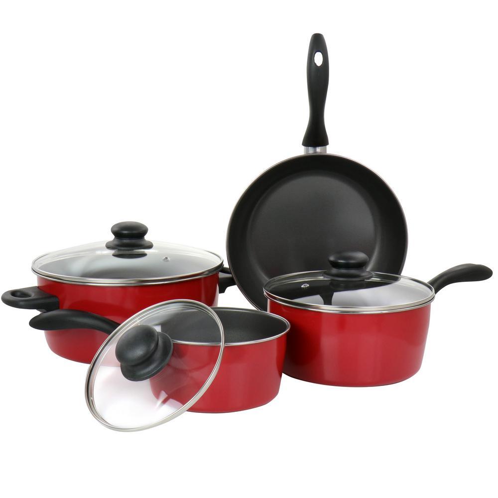2 Piece Frying Pan Set Rose Gold Carbon Steel Bakelite Cookware Nonstick Cooking