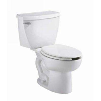 Cadet Pressure-Assisted 2-Piece 1.6 GPF Elongated Toilet in White
