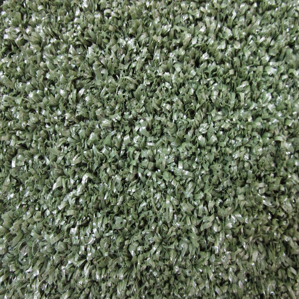 beaulieu plush artificial turf green 6 ft x 8 ft bound carpet remnant