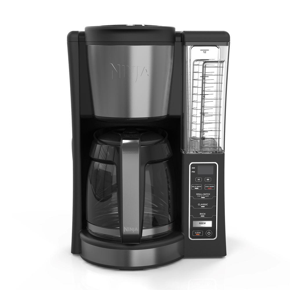 Ninja CE200 12-Cup Programmable Coffee Maker, Black (Certified Refurbished)