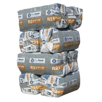 R-21 Denim Insulation Batts 24.25 in. x 94 in. (8-Bags)