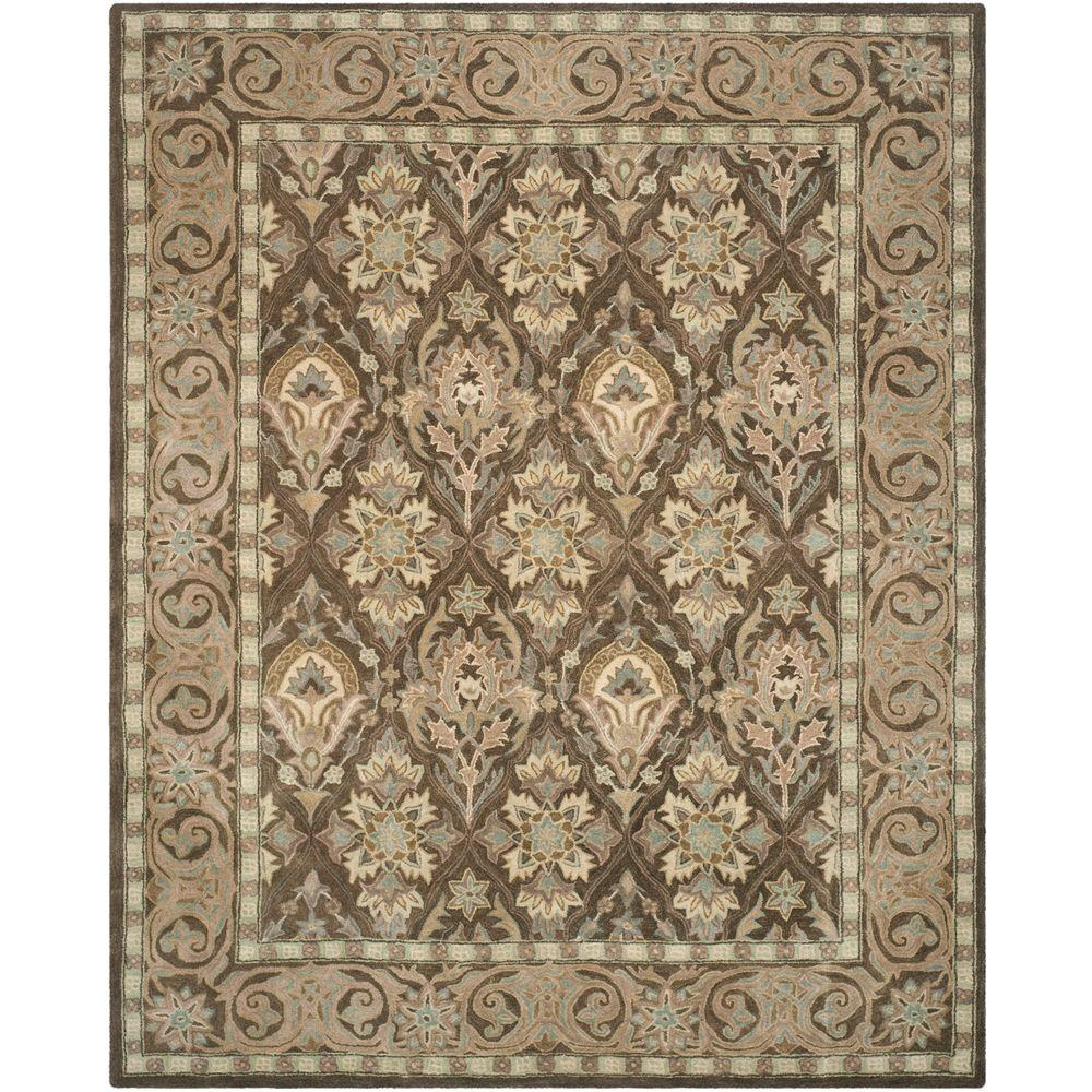 Safavieh Anatolia Brown Beige 9 Ft X 12 Ft Area Rug An587c 9 The
