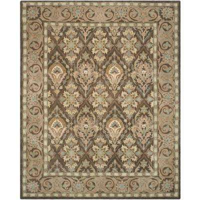 Anatolia Brown/Beige 9 ft. x 12 ft. Area Rug