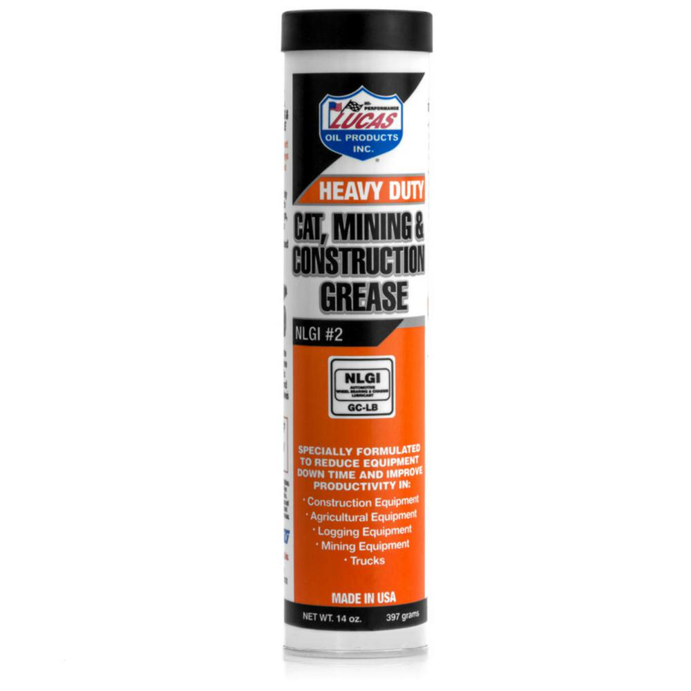 14 oz. Heavy Duty Cat, Mining and Construction Grease