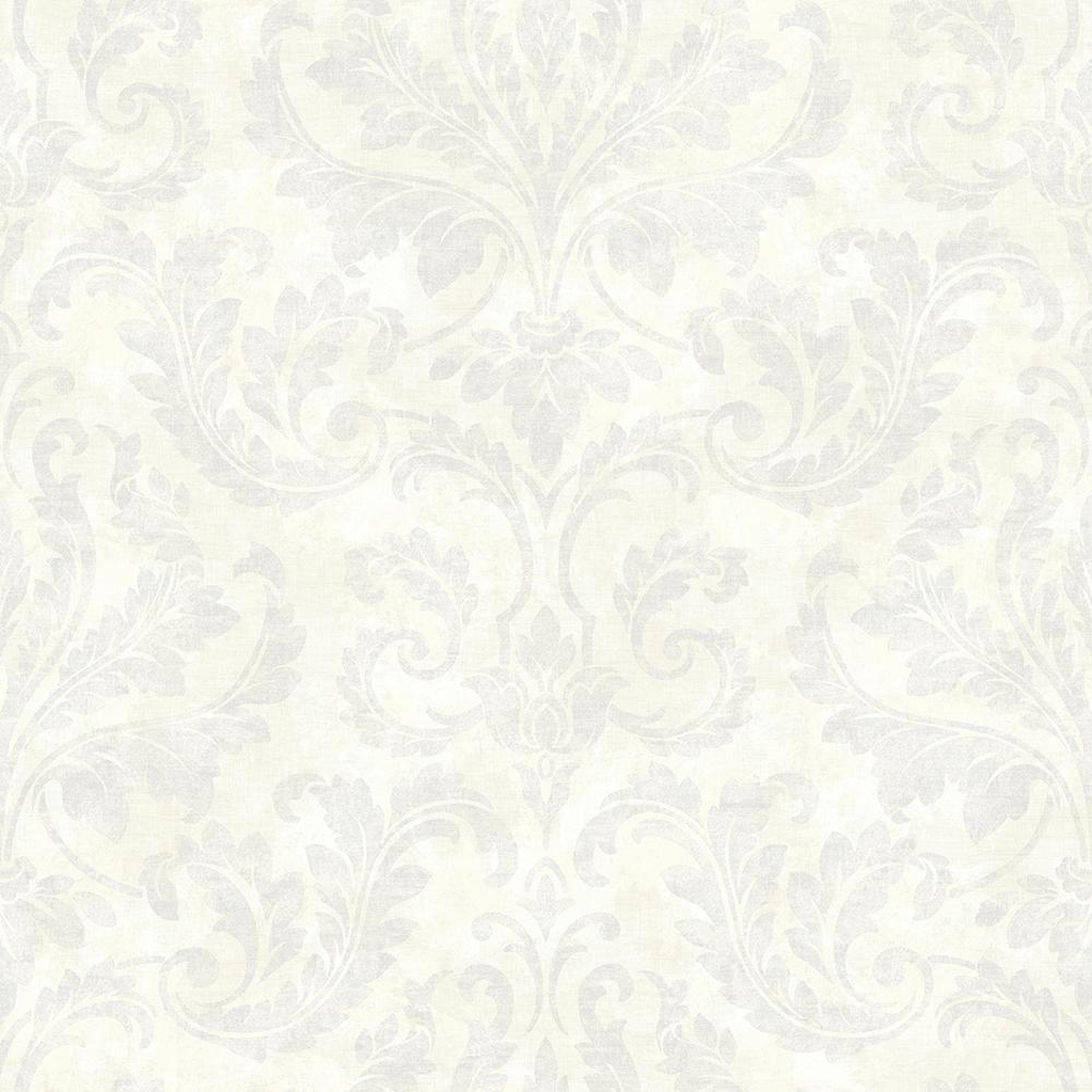 Arbor Rose Lavender Floral Trail Wallpaper