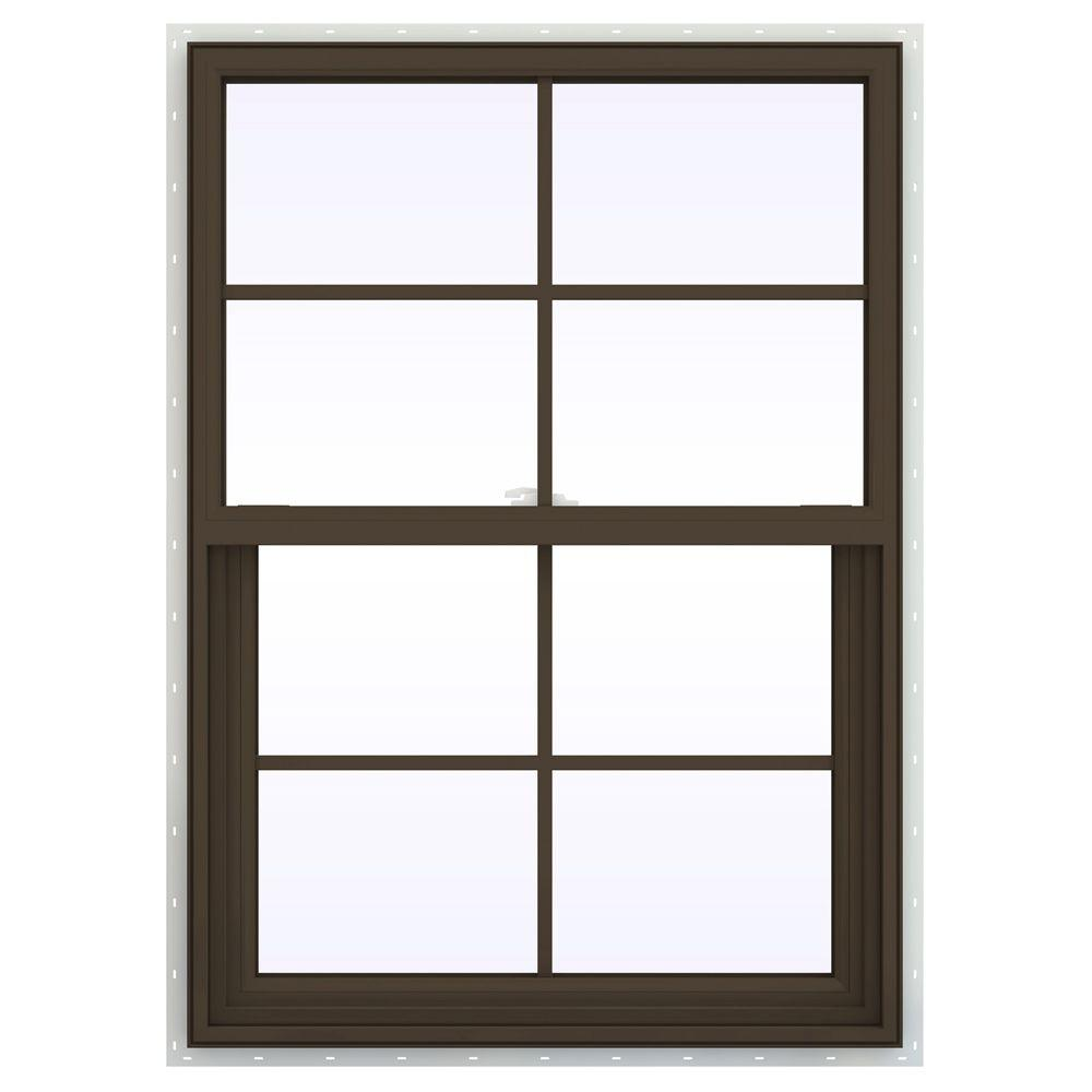 29.5 in. x 35.5 in. V-2500 Series Single Hung Vinyl Window