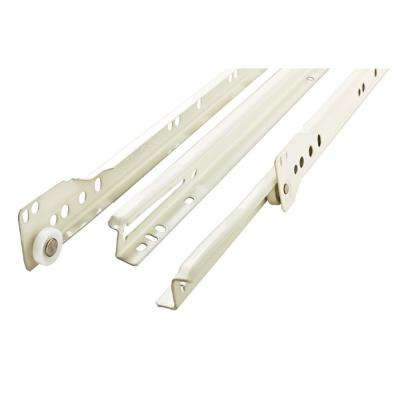 18 in. Self-Closing Bottom Mount Drawer Slide Set