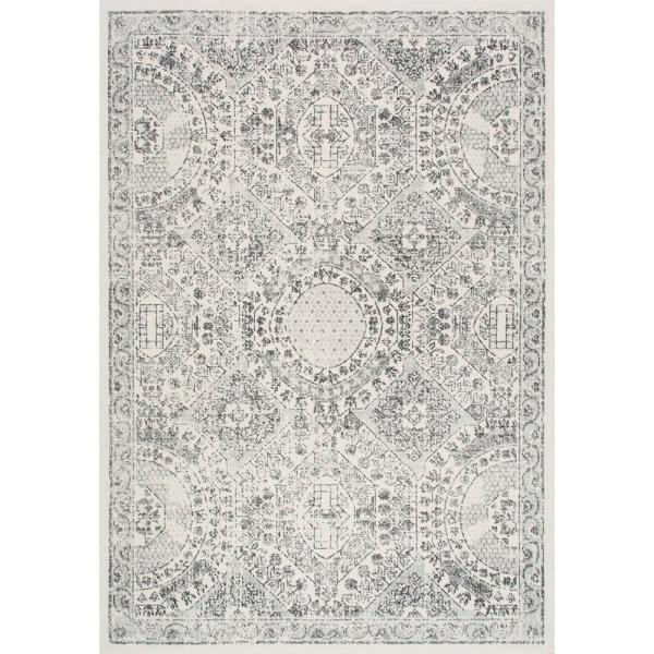 Minta Modern Persian Gray 10 ft. x 13 ft. Area Rug