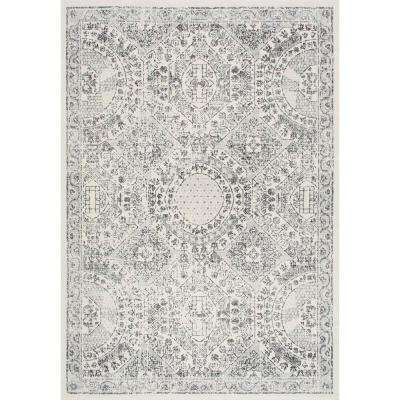 Minta Modern Persian Gray 9 ft. x 12 ft. Area Rug