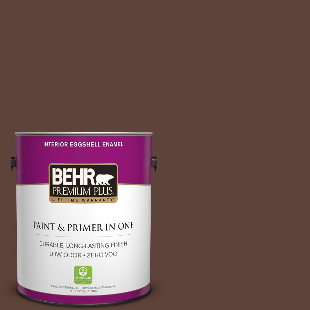 BEHR Premium Plus 1-gal. #S-G-780 Spiceberry Zero VOC Eggshell Enamel Interior Paint
