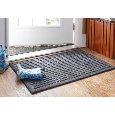 Dots Charcoal 36 in. x 48 in. Impressions Mat