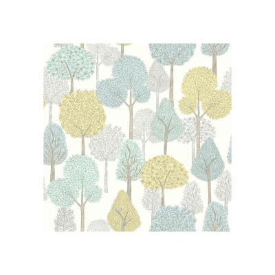 DwellStudio Baby and Kids Treetops Wallpaper