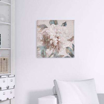 Morning Peony Floral Canvas Wall Art