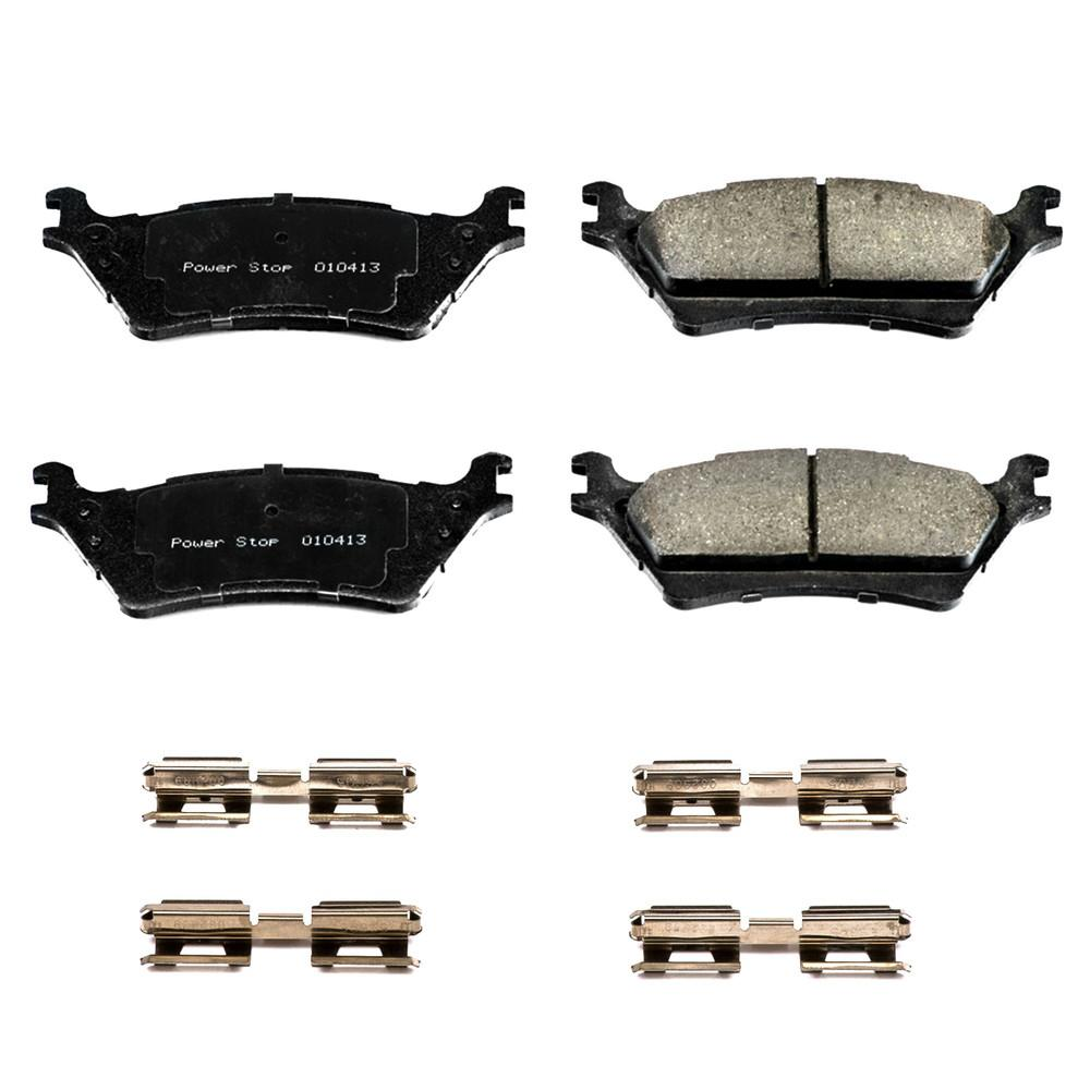 Power Stop Disc Brake Pad Set 2014 Ford F-150 V6
