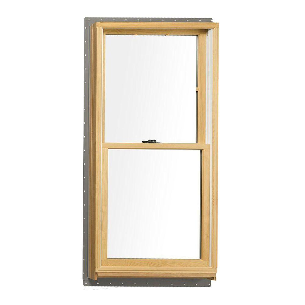 Andersen In X In 400 Series Tilt Wash Double Hung Wood Window With White