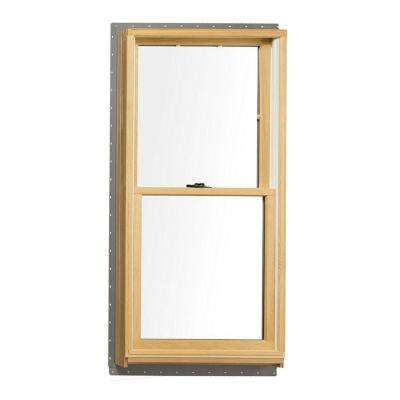 Anderson Replacement Windows >> 37 625 In X 56 875 In 400 Series Tilt Wash Double Hung Wood Window With White Exterior