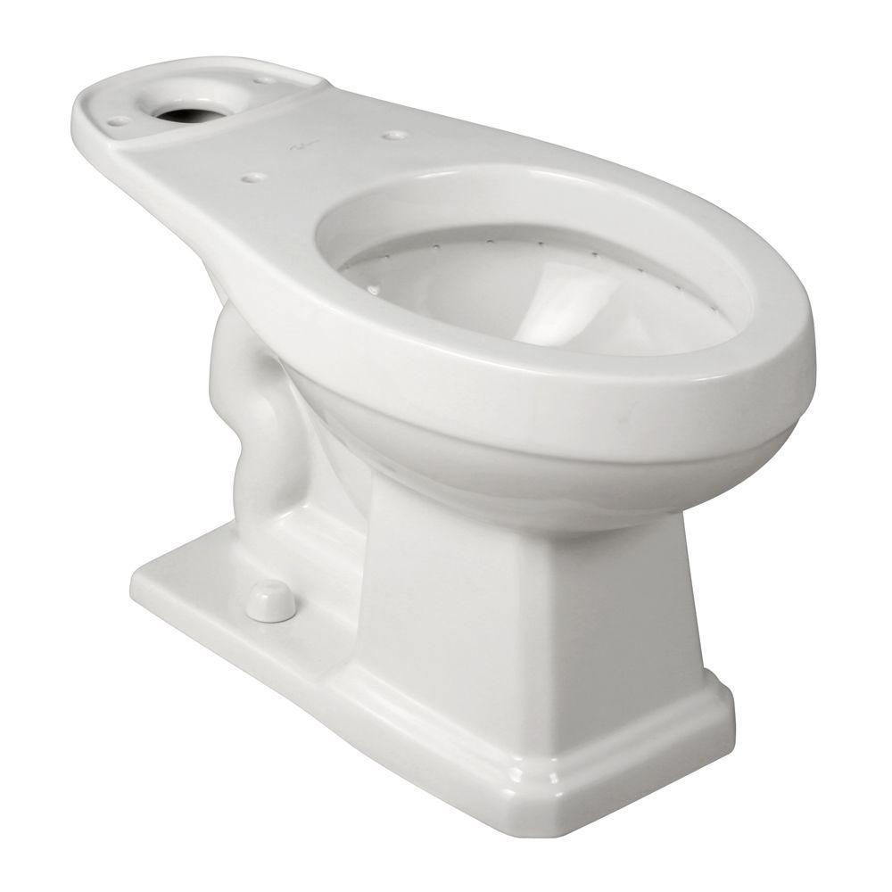 Foremost Elongated Toilet Bowl Only in White