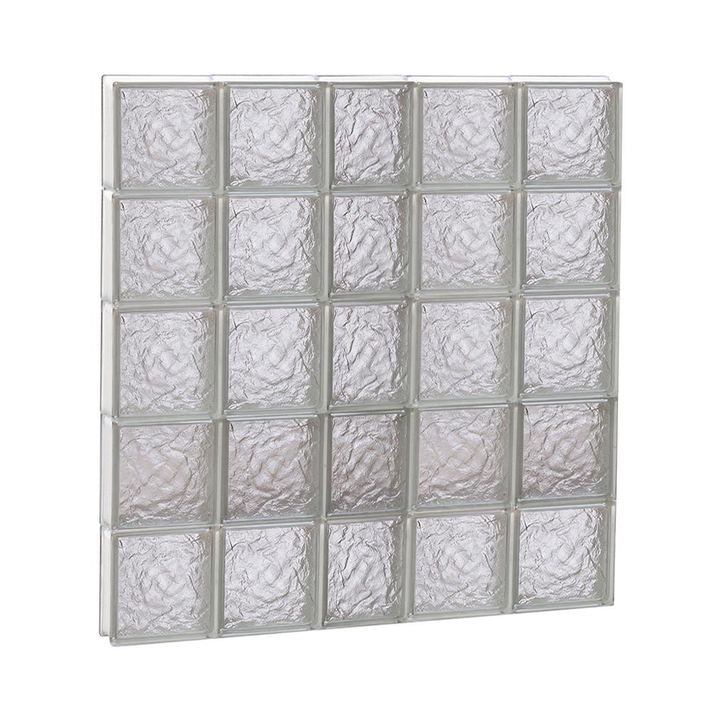 Clearly Secure 36.75 in. x 38.75 in. x 3.125 in. Frameless Ice ...