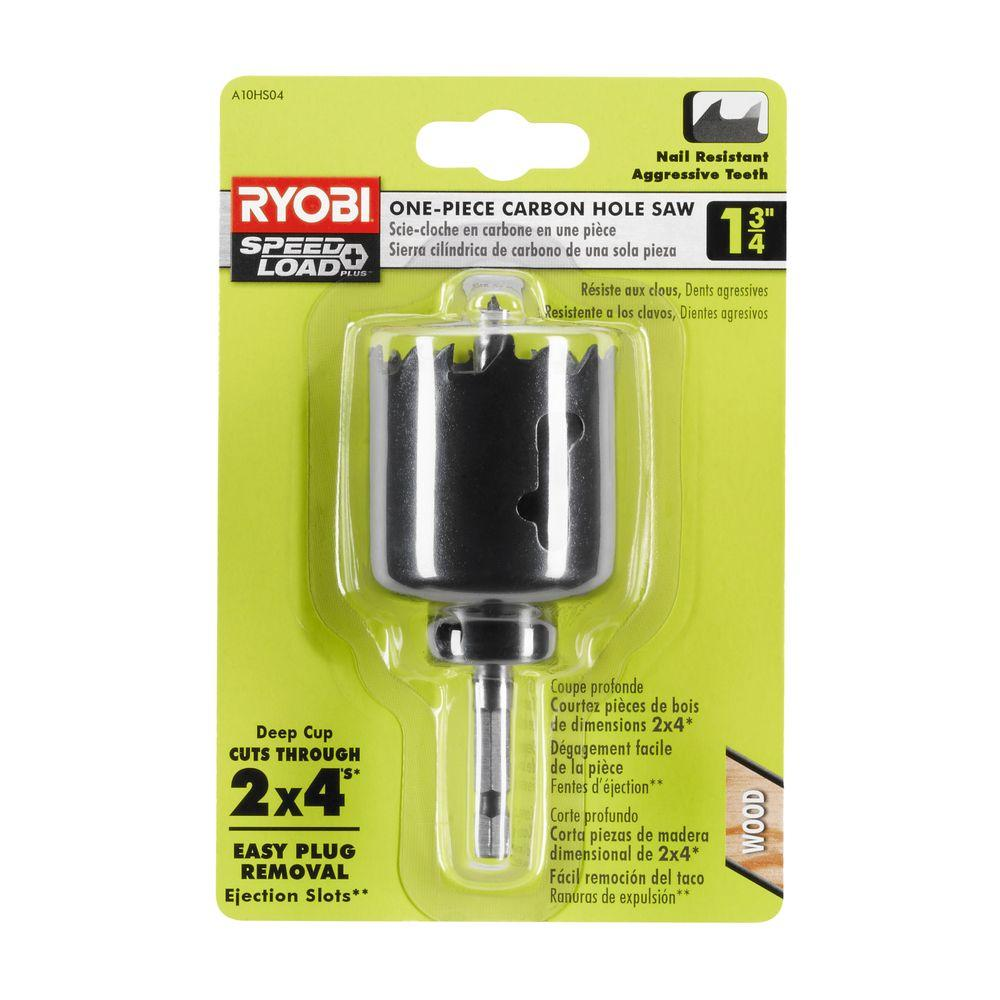 Ryobi 1-3/4 in. Carbon Hole Saw