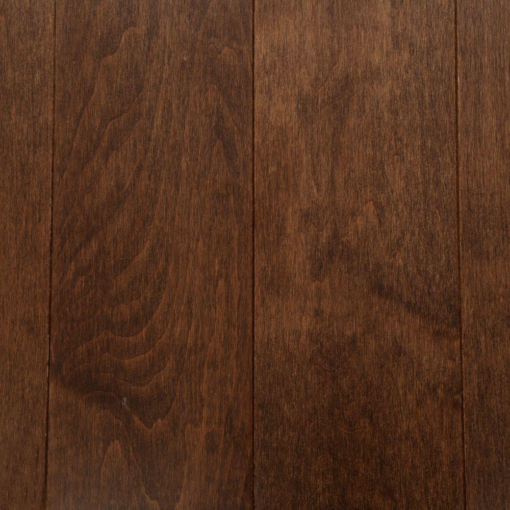 Bruce american originals carob maple 3 4 in thick x 5 in for Solid hardwood flooring