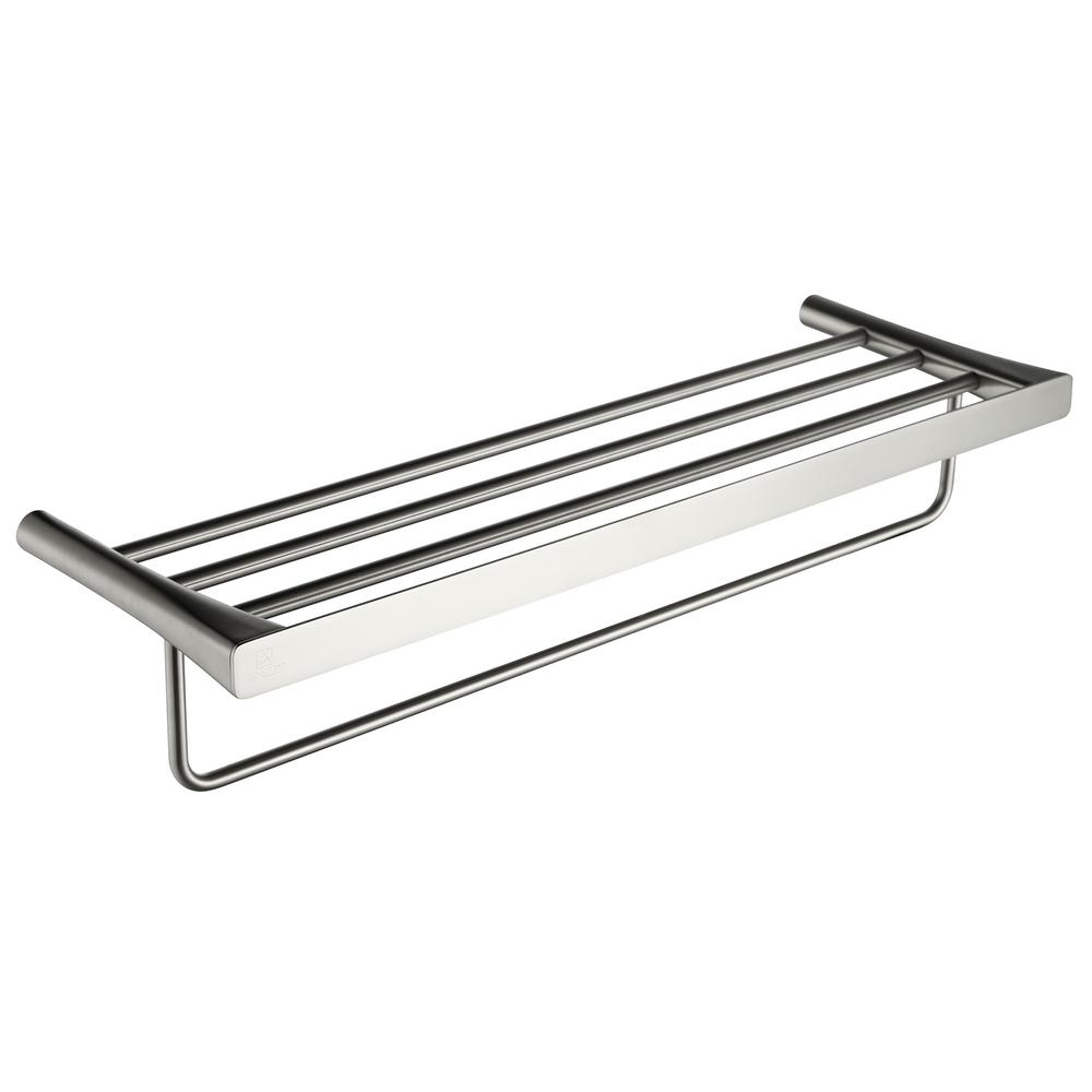 ANZZI Caster 3 Series 5 Bar Towel Rack in Brushed Nickel-AC-AZ058BN ...