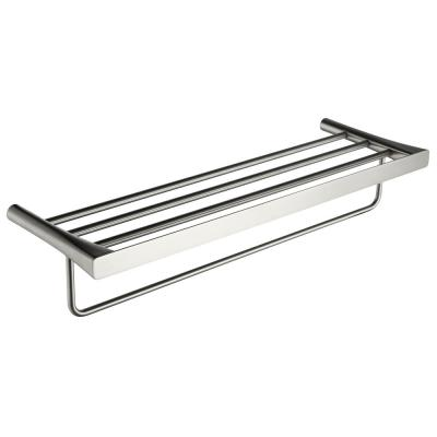 Caster 3 Series 5 Bar Towel Rack in Brushed Nickel