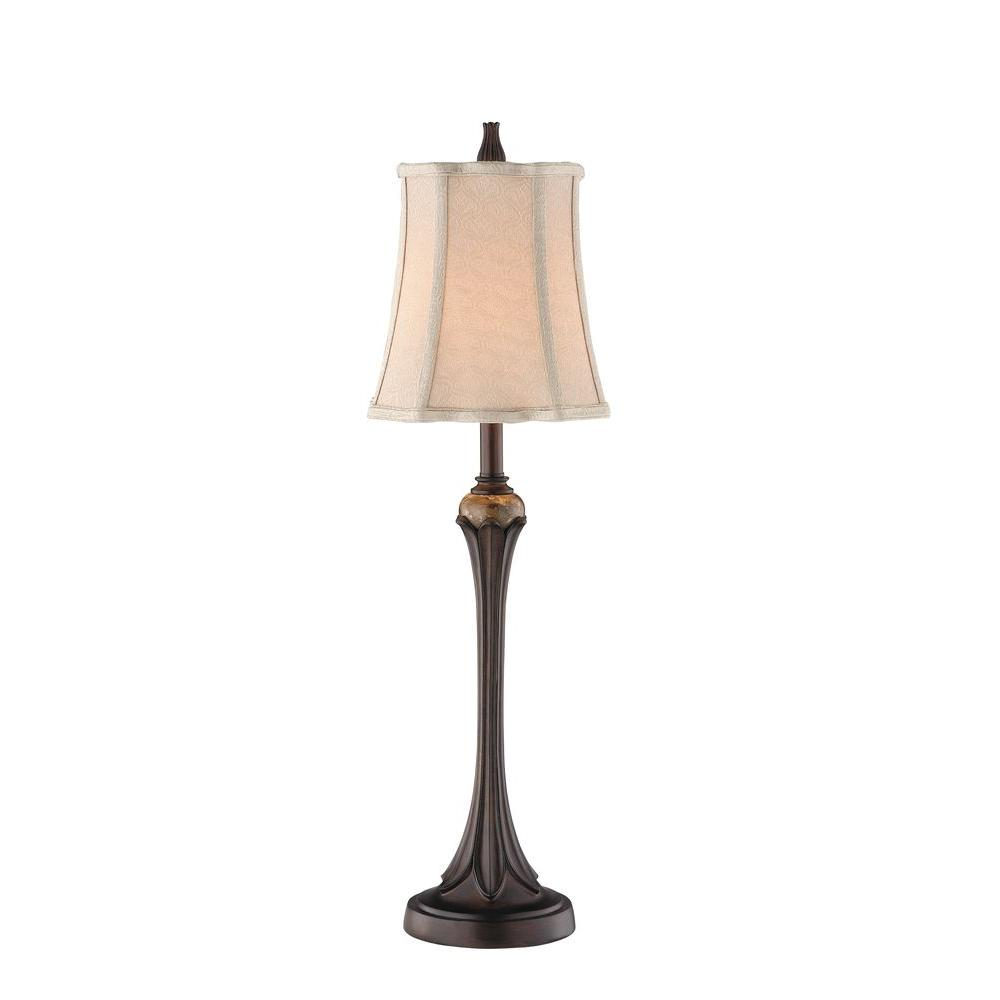 Filament Design Sonoma 31 in. Rough Hewn Wood Table Lamp (Set of 2)