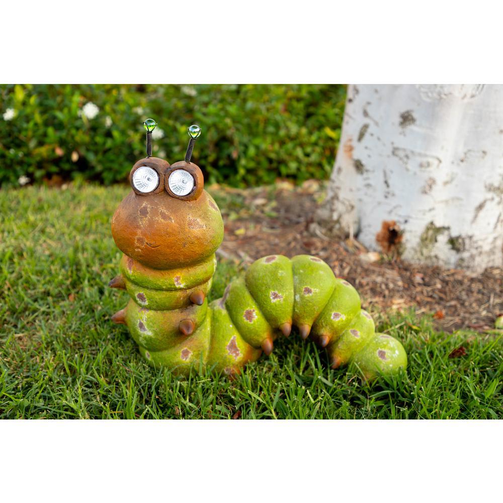 Solar Caterpillar with Solar Eyes Statue