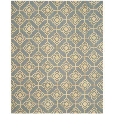 Four Seasons Gray/Gold 8 ft. x 10 ft. Area Rug