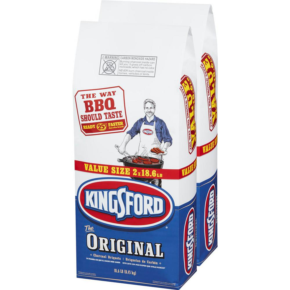 Kingsford 18.6 lb. Charcoal Briquettes (2-Bag)