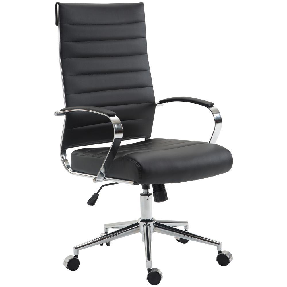 Tremaine Black High Back Management Chair