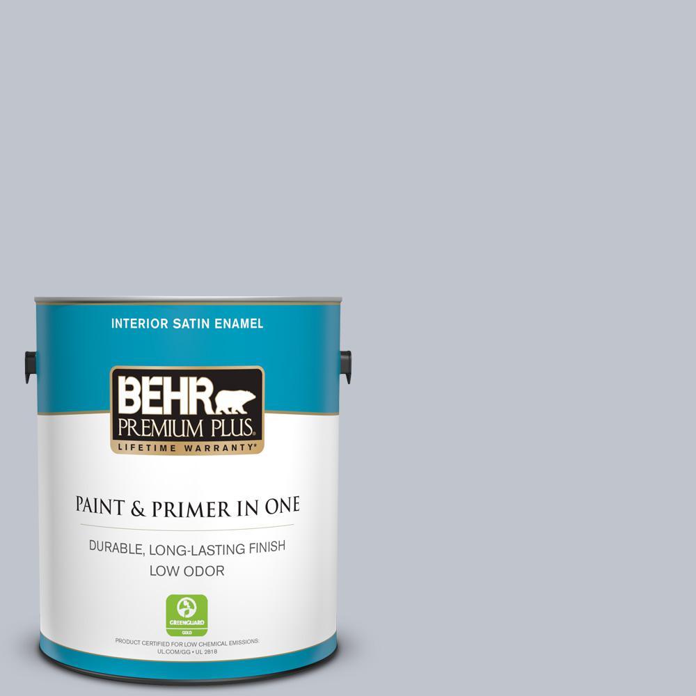 1 gal. #N540-2 Glitter color Satin Enamel Interior Paint and Primer