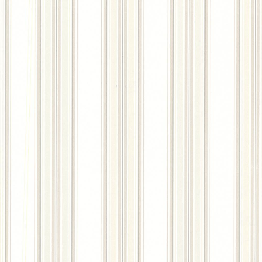 Beacon House Marine Off-White Sailor Stripe Wallpaper Sample 2604-21212SAM