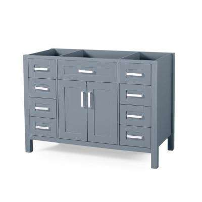 Greysen 48 in. W x 22 in. D Bath Vanity Cabinet Only in Grey