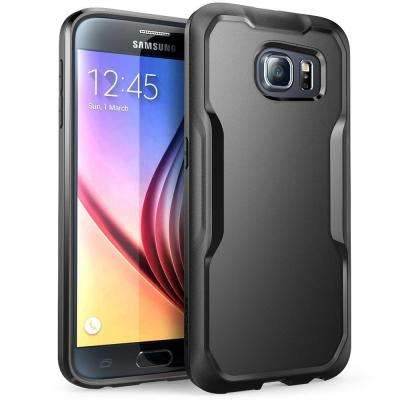 SUPCASE Unicorn Beetle Hybrid Bumper Case for Samsung Galaxy S6, Black/Black