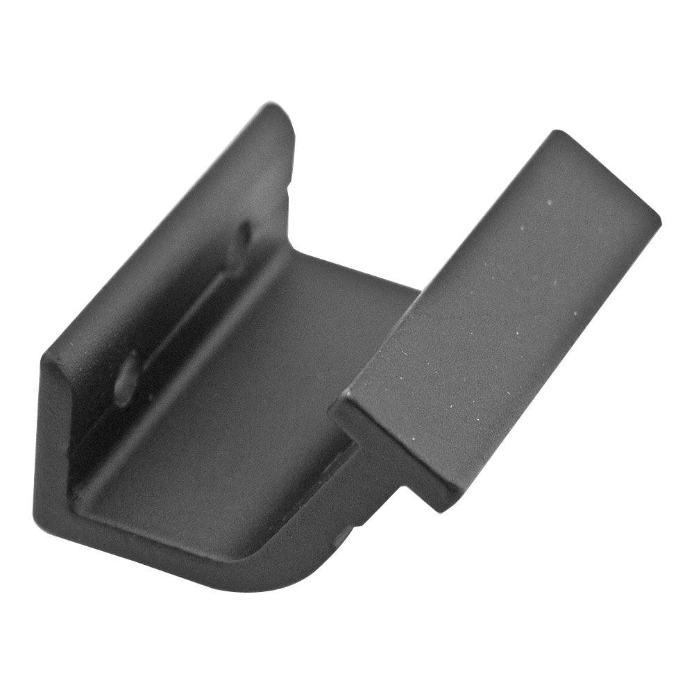 Quiet Glide Black Horizontal Hook Bracket Kit