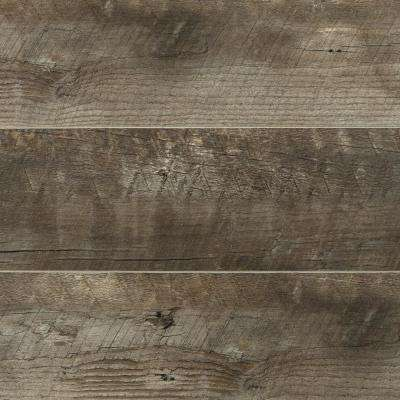 Take Home Sample - Radcliffe Aged Hickory Laminate Flooring - 5 in. x 7 in.