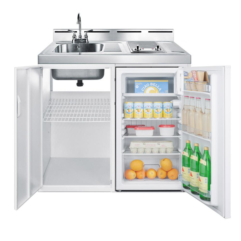 Summit Appliance 39 In Compact Kitchen In White