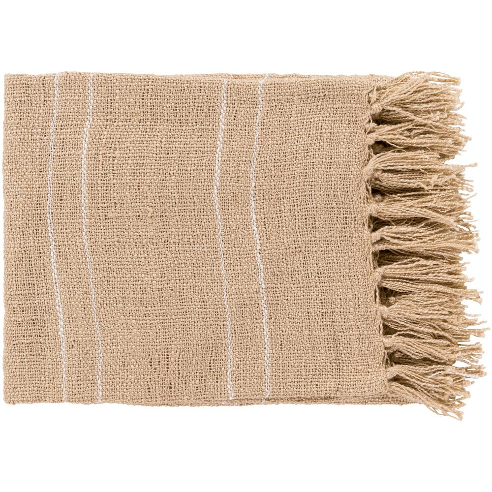 Elenora Khaki Acrylic Throw