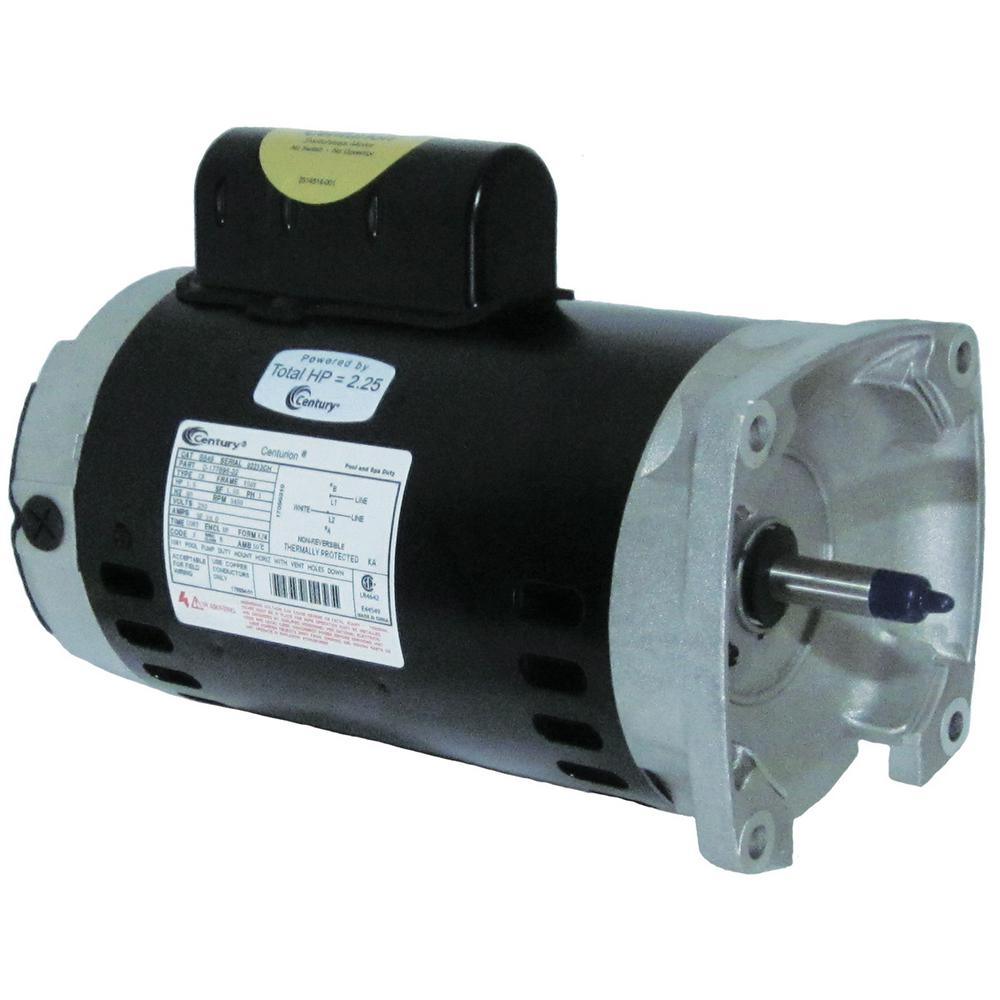 Century 1 HP Single Speed Full Rate Replacement Motor-B849 - The ...