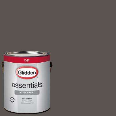 1 gal. #HDGCN52 Forest Black Flat Interior Paint