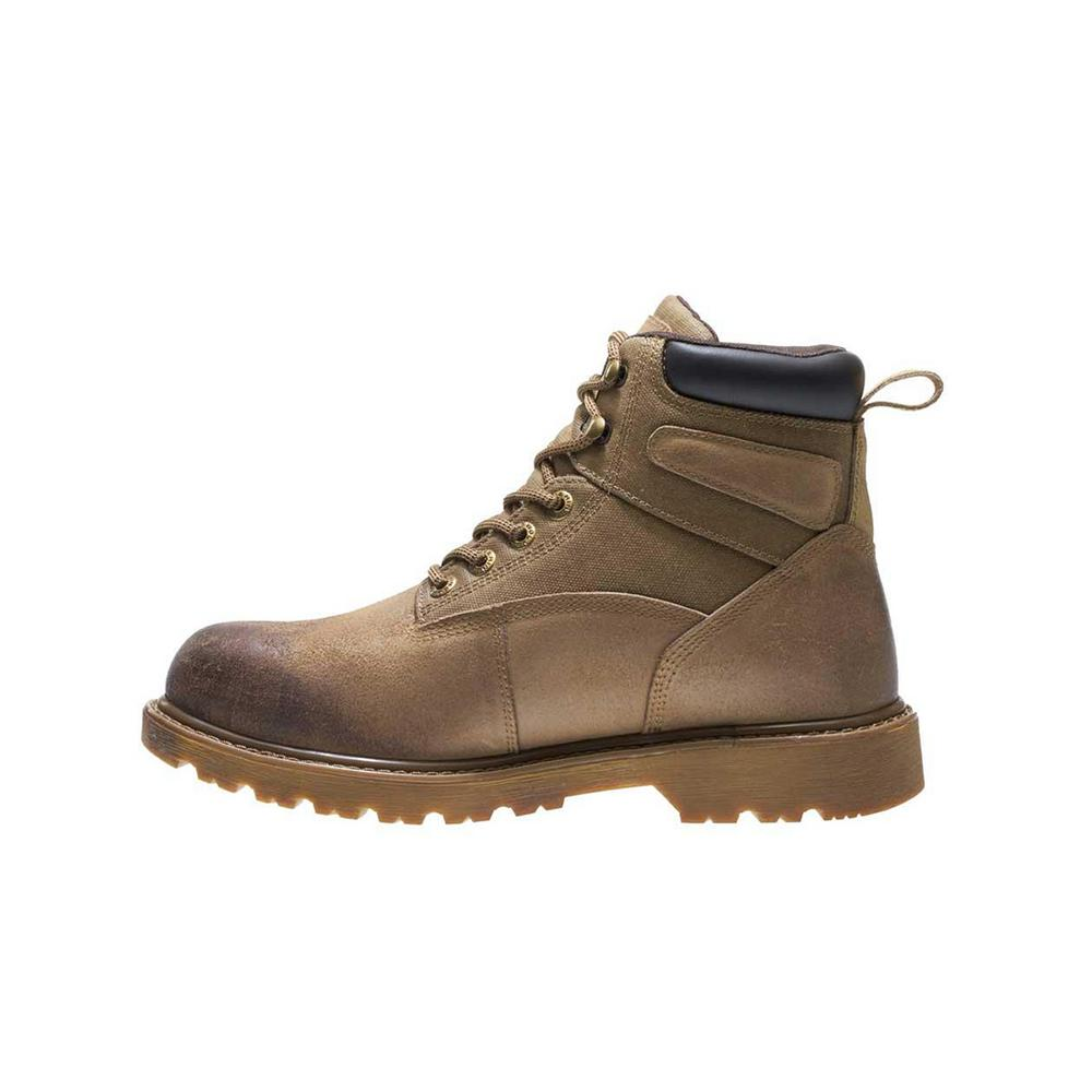 006b412cbc1 Wolverine Men's Floorhand Size 7M Sand Waterproof Full-Grain Leather 6 in.  Boot
